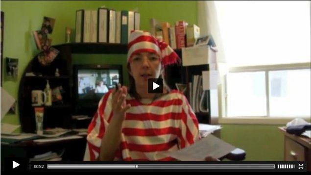 La première capsule vidéo de l'activité « Où est Jacinthe? »