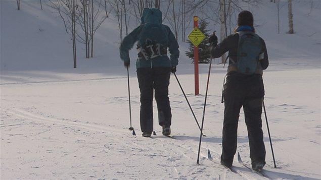 Janvier a été un mois désastreux pour la pratique du ski de fond.