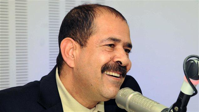 L'avocat Choukri Belaïd, figure de l'opposition laïque tunisienne, assassiné devant sa maison le 6 février 2012.