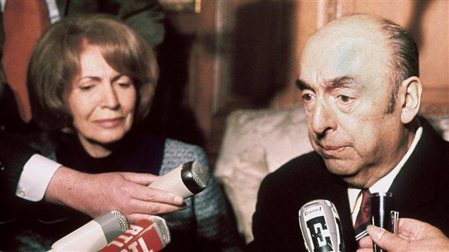 Pablo Neruda en 1971