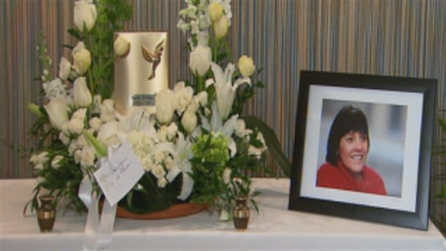 Funérailles de Ginette Leblanc