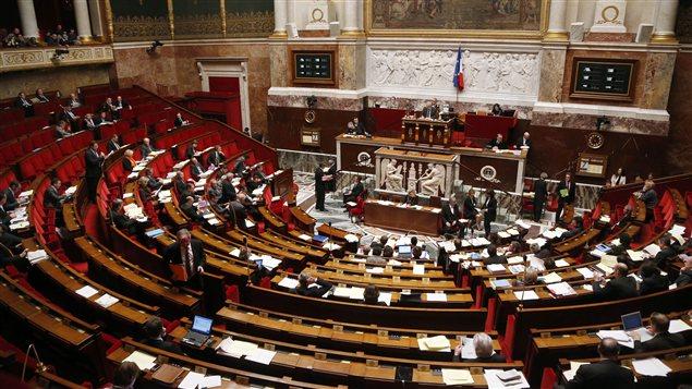 Assemblée nationale française le 7 février, à l'occasion de l'examen du projet de loi mettant en place le mariage et l'adoption pour les couples homosexuels