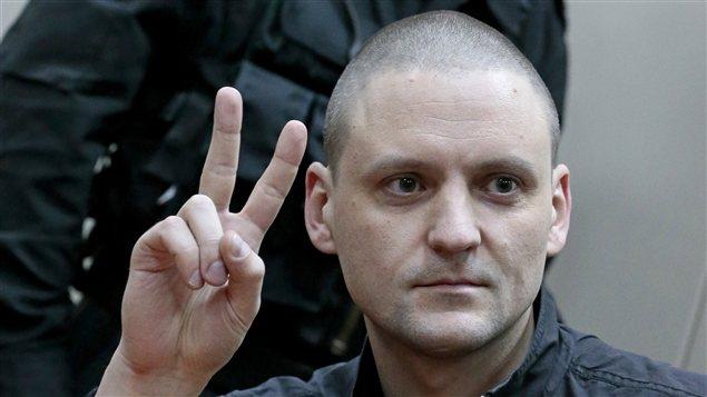 Sergueï Oudalstov dans un tribunal de Moscou, samedi le 9 février 2013