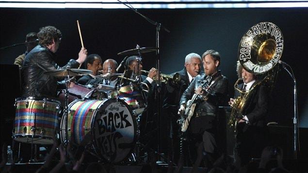 Le groupe The Black Keys, un des gagnants de la soirée.