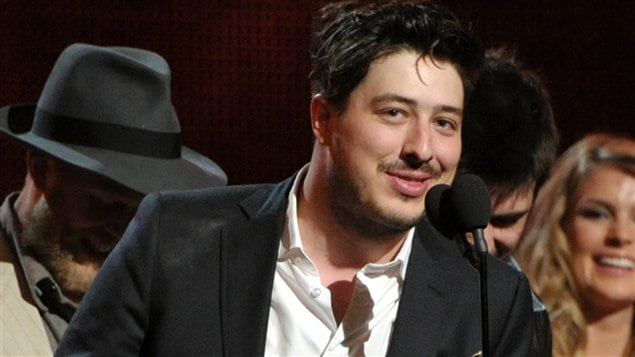 Marcus Mumford, leader de Mumford and Sons