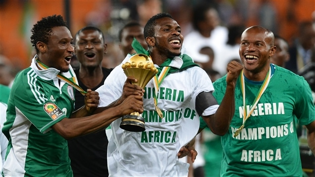 Le Nigeria a remporté la Coupe d'Afrique des nations.