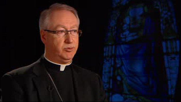 L'archevêque d'Edmonton, Richard Smith
