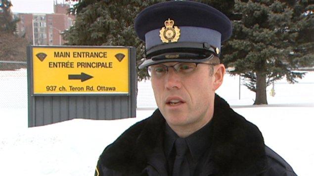 Le porte-parole de la Police provinciale de l'Ontario, Rhéal Levac