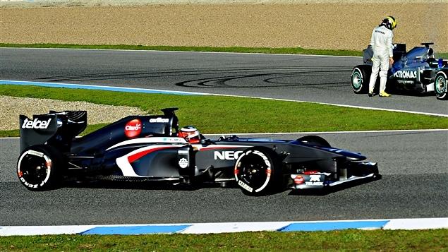 Nico Hülkenberg à Jerez