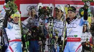 Les Autrichiens, champions du monde par équipe