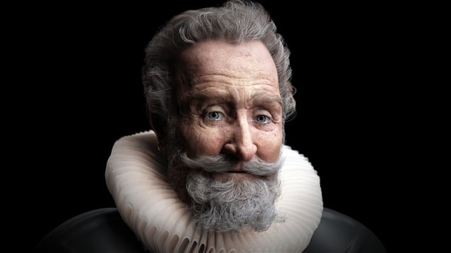 Le visage du roi Henri IV