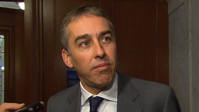 Le ministre des Finances Nicolas Marceau