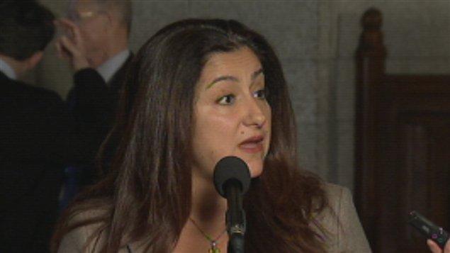 La députée Maria Mourani