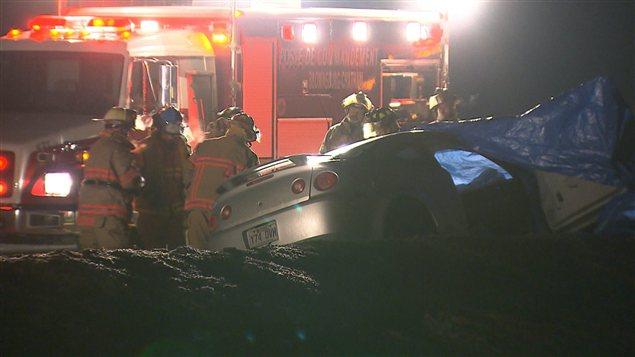 Accident de la route à Lachute