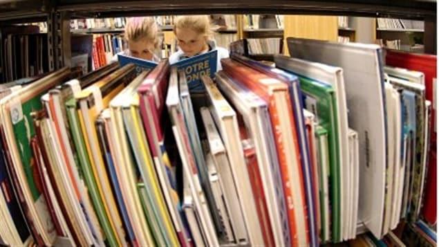 Division à Château-Richer autour d'une bibliothèque