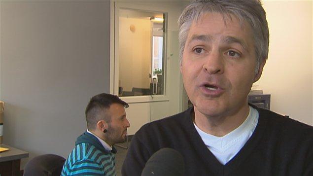 Daniel Gélinas, directeur du FEQ