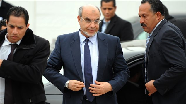Le premier ministre Hamadi Jabali se rendant aux consultations avec les partis politiques lundi