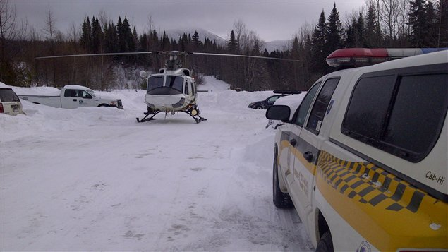 Une dizaine de policiers de la Sûreté du Québec patrouille le parc à la recherche de l'homme de 37 ans disparu depuis dimanche dans le parc de la Gaspésie.