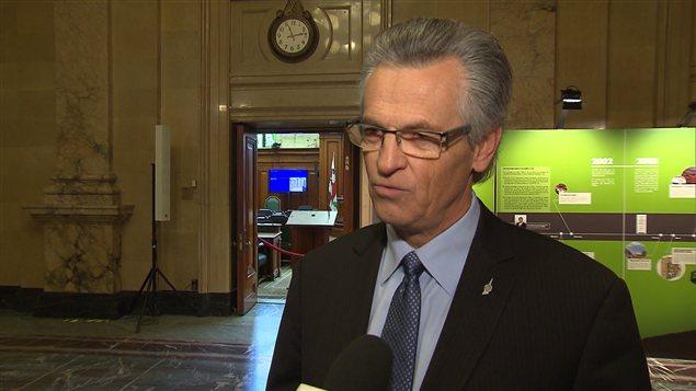 Le maire de l'arrondissement de Montréal-Nord, Gilles Deguire