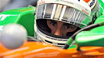 Adrian Sutil et Force India