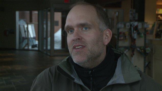 Dominic Marcotte, cousin de Bertrand Marcotte disparu depuis dimanche dans le parc de la Gaspésie.