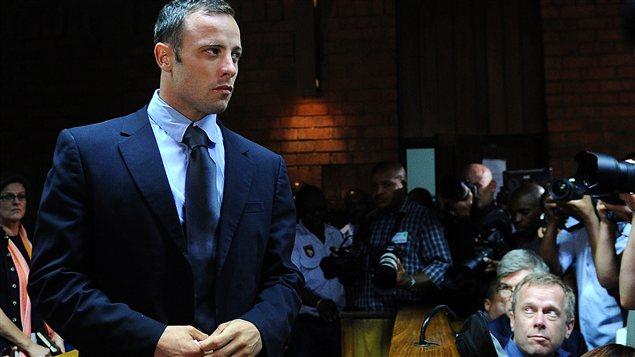 Oscar Pistorius au tribunal, vendredi