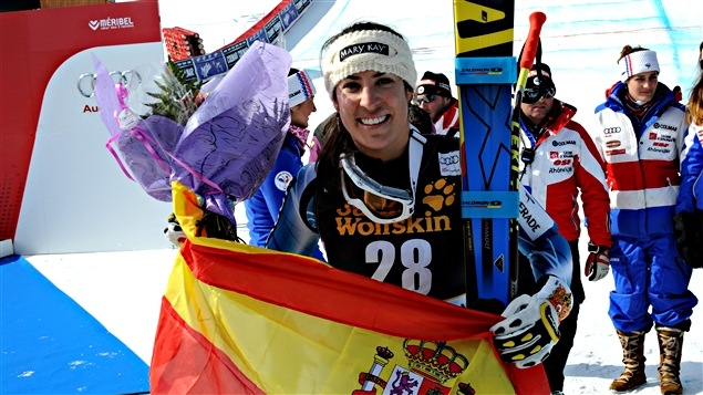 L'Espagnole Carolina Ruiz Castillo