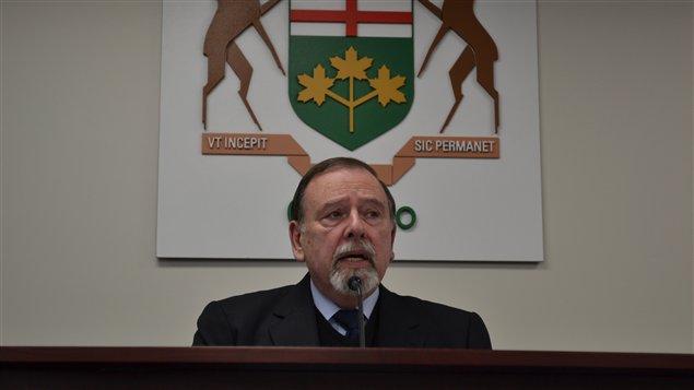 Le juge Paul Bélanger préside la Commission