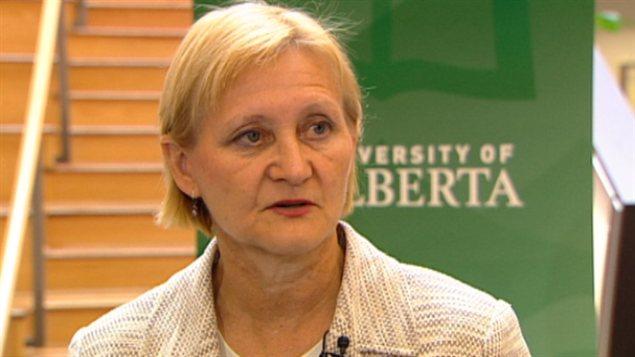 Donna Wilson, chercheure à l'Université de l'Alberta