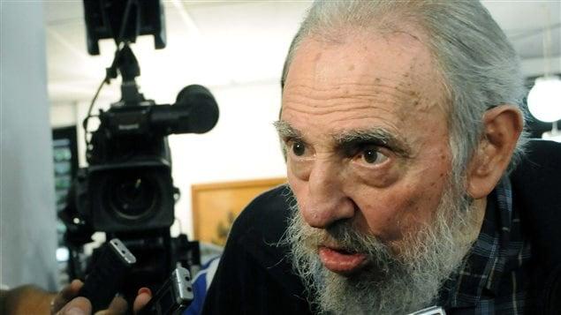 Fidel Castro, ancien leader de Cuba, le 3 février 2013