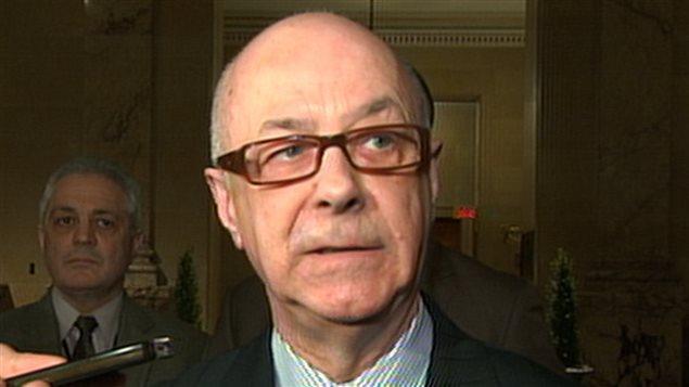 Christian Dubois, responsable de la Sécurité publique, Ville de Montréal
