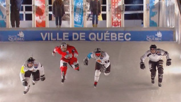 Le Red Bull Crashed Ice a été un succès.