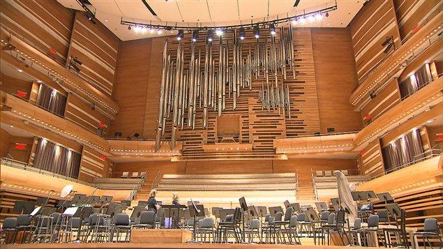 L'orgue de la Maison symphonique de Montréal a été réalisé par la maison Casavant