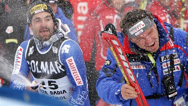 Martin Rufener (droite)