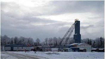 Mine d'or Vezza, située près de Matagami