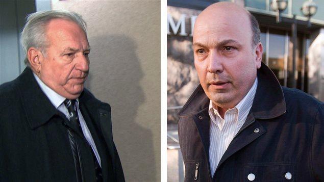 Bernard Trépanier et Frank Zampino
