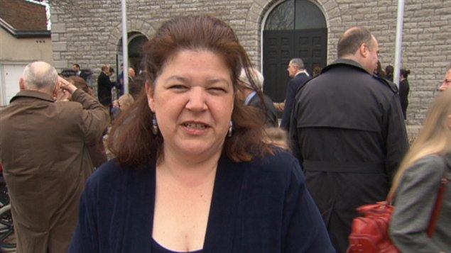 Jacqueline Fournier est ravie d'entendre les cloches sonnées dans sa nouvelle paroisse.