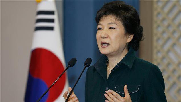 La présidente de la Corée du Sud, Park Geun-hye