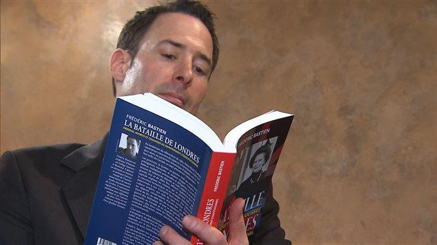 Frédéric Bastien, auteur de « La bataille de Londres - dessous, secrets et coulisses du rapatriement constitutionnel »