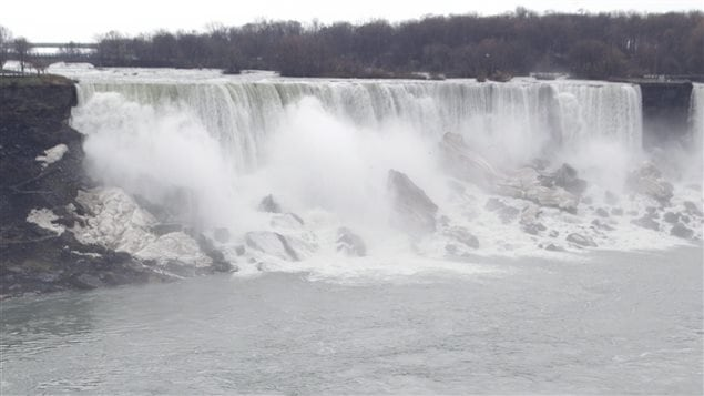 Les chutes du Niagara, en Ontario