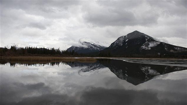 Lac Vermillion près de Banff, en Alberta