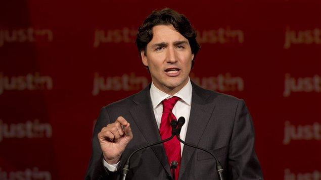 Justin Trudeau, discours nouveau chef du PLC