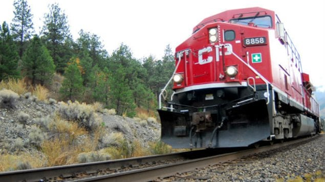 Une locomotive du Canadien Pacifique