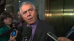 Le vice-premier ministre du Québec, François Gendron, n'aime pas la façon dont les choses se déroulent à la commission Charbonneau ces jours-ci.