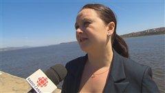La députée néo-démocrate Annick Papillon