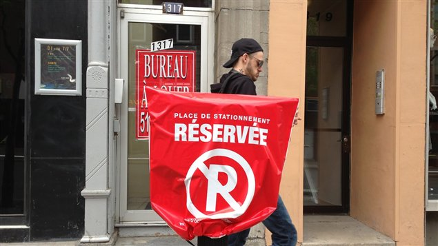 La fermeture de la rue Ste-Catherine