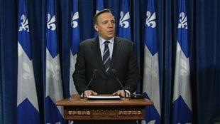 François Legault, chef de Coalition Avenir Québec