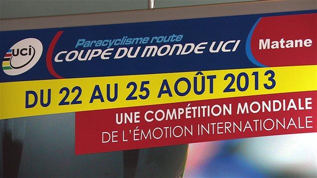 Coupe du monde de paracyclisme à Matane