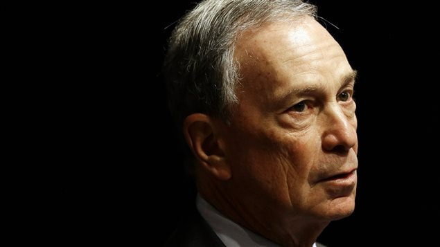 Le maire de New York, Michael Bloomberg