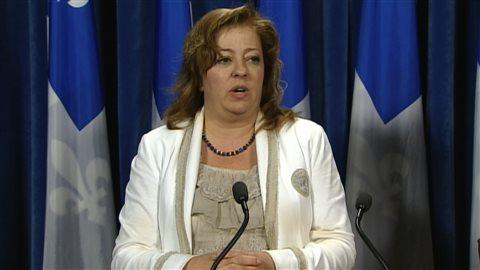 Sylvie Roy, députée de la Coalition avenir Québec (CAQ)